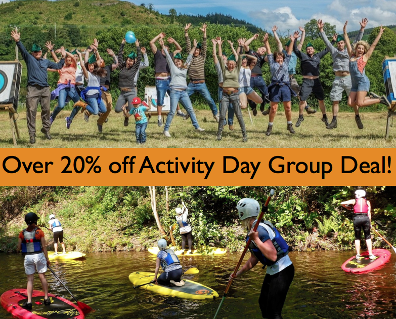 Activity Day SUP Archery group deal