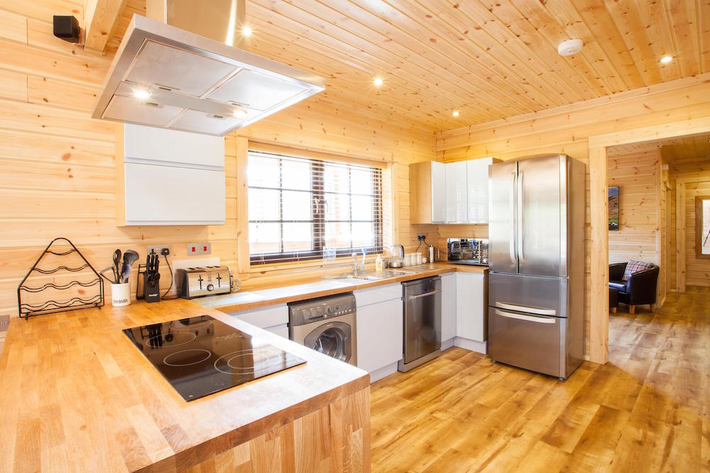 Log Cabins Kitchen