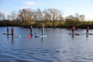British canoeing SUP sheltered water ppa