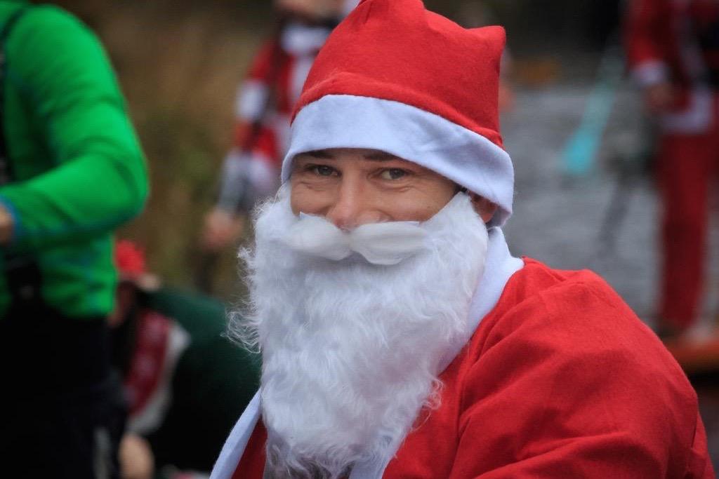 Father Christmas SUP