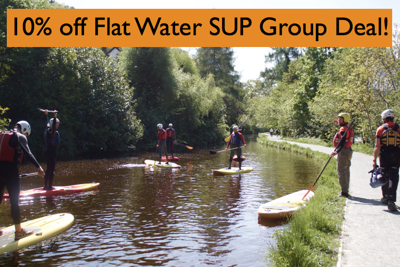 Flat water SUP group deal