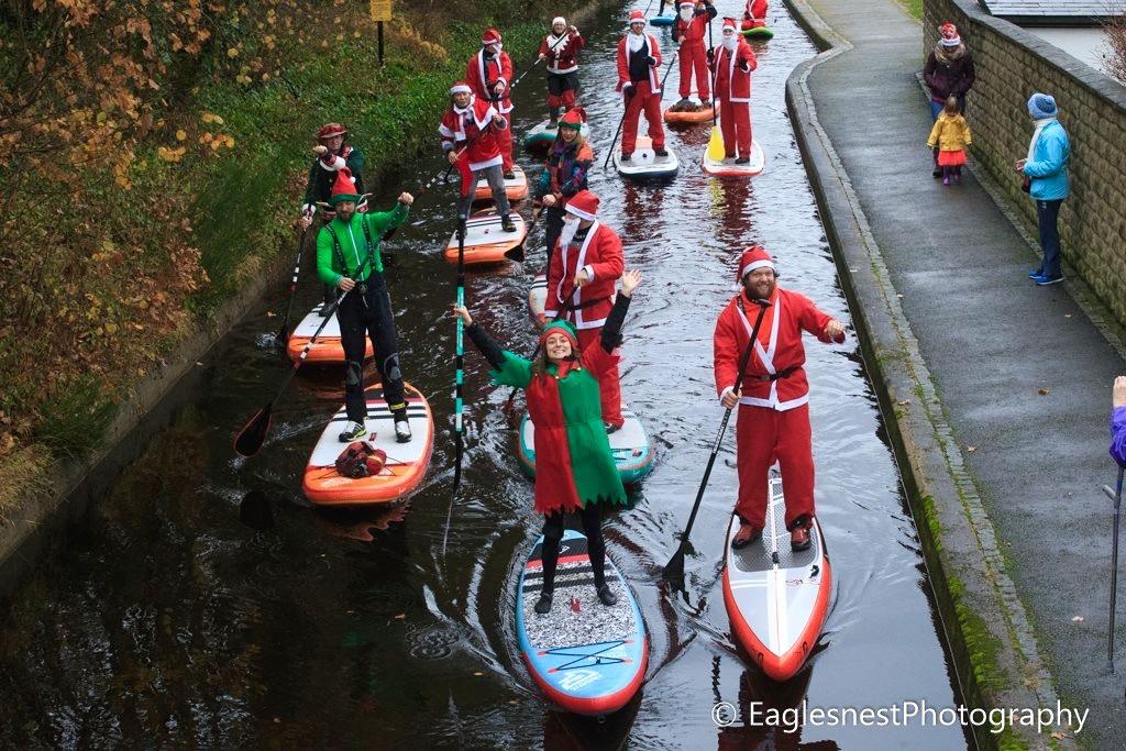Santa SUP Paddle