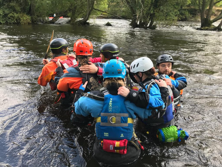 White Water Safety and Rescue Huddle